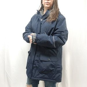 new LANDS' END The Squall Hooded Winter Parka Coat